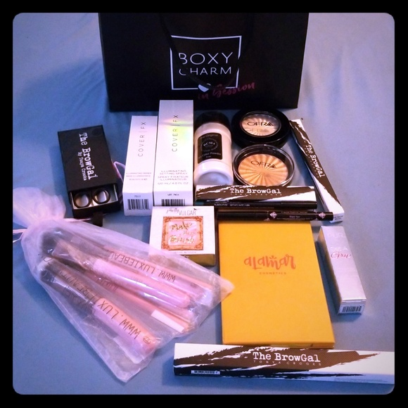 boxycharm makeup boxy charm in session event goodie bag poshmark